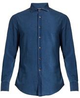 Brunello Cucinelli Button-cuff Cotton Shirt