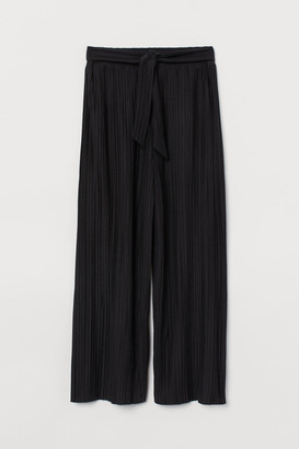 H&M Cropped jersey trousers