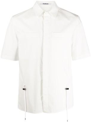 Chalayan Drawstring Waist Cotton Shirt