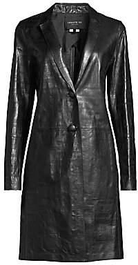 Lafayette 148 New York Women's Jobelle Lambskin Leather Jacket