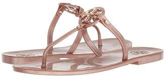 Tory Burch Mini Miller Flat Thong (Rose Gold) Women's Sandals