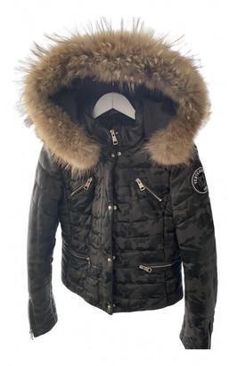 Ventcouvert Khaki Leather Coats
