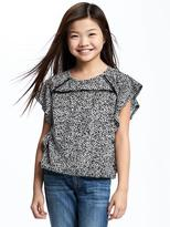 Old Navy Ruffle-Sleeve Tee for Girls