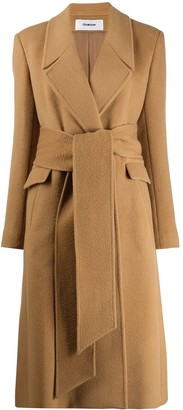 Chalayan wrap belted Coat