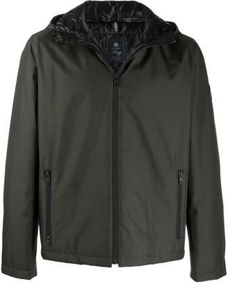 Fay padded zip-up jacket