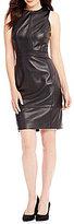 Antonio Melani Nina Genuine Leather Dress