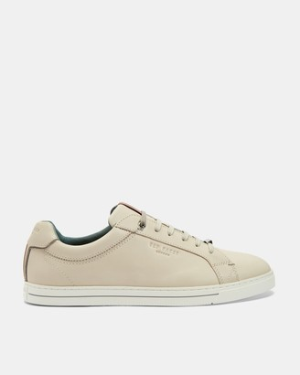 Ted Baker Burnished Leather Trainers