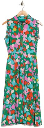 J.Crew Yvana Retro Printed Midi Dress