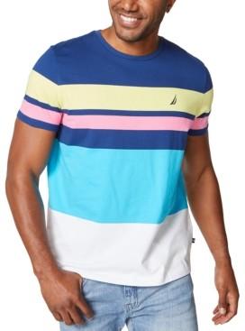 Nautica Men's Fashion Stripe T-Shirt