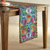 """Pier 1 Imports Vistoso Blooms Embroidered Table Runner - 36"""""""