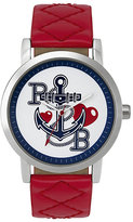 Pauls Boutique Mia Red Strap Watch