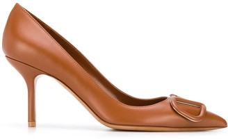 Valentino VLOGO leather pumps