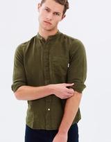 Paul Smith Collarless Linen LS Shirt