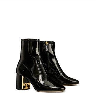 Tory Burch Gigi Stretch Patent Leather Bootie