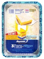 Reynolds 1/4 Sheet Cake w/ Parchment 3 ct