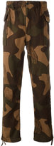 Levi's camouflage tapered trousers