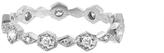 Cathy Waterman Hexagonal Diamond Band - Designer Platinum Ring