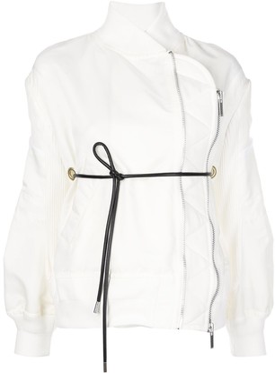Sacai wrap-around bomber jacket