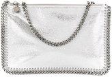 Stella McCartney Falabella clutch bag - women - Polyester - One Size