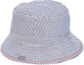 Boss Kids - striped hat - kids - Cotton - 42 cm