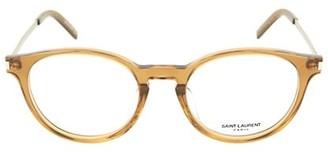 Saint Laurent 49MM Round Core Optical Glasses