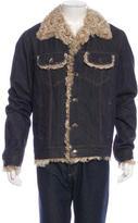 Dolce & Gabbana Sherpa Denim Jacket