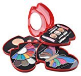 Cameo Red Double Heart Glamour Girl Makeup Color Kit