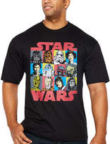 Star Wars Starwars Group Short Sleeve Graphic T-Shirt-Big and Tall