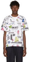 Kenzo White Flyers T-Shirt