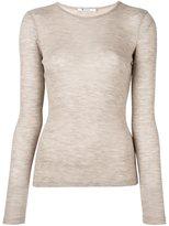 Alexander Wang fine knit ribbed T-shirt