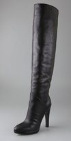 Shoes Python Print Over the Knee Boots