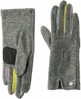 Echo Women's Classic Colorblock Fourchette Wool Blend Glove