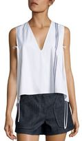 Derek Lam Cropped Striped Top