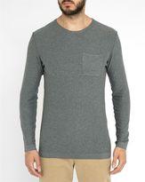 Minimum Grey Haral Pr Round-Neck Sweater