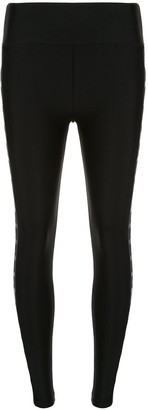 Lanston Sport Holden side stripe leggings