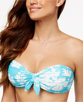 MICHAEL Michael Kors Tie-Front Bandeau Bikini Top
