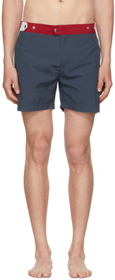 Solid And Striped Solid and Striped Navy and Red The Kennedy Swim Shorts