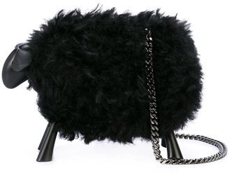 Oscar de la Renta Sheep Clutch Bag