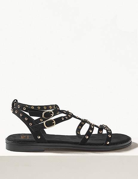 85a147293170 Studded Gladiator Sandals - ShopStyle