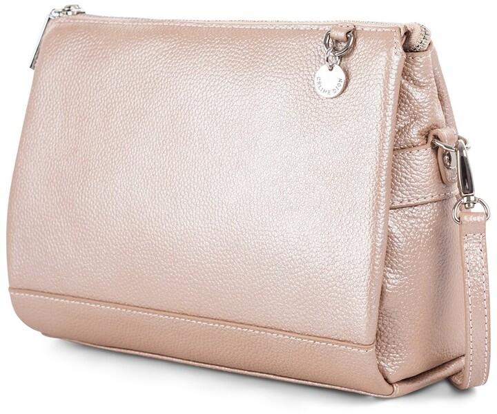 Celine Dion Falsetto Leather Crossbody