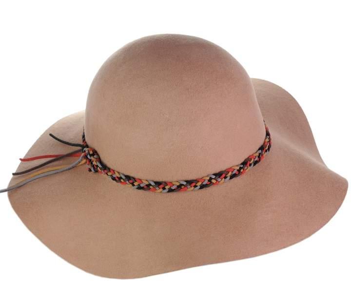 79ae3ccd8 NYfashion101 Exclusive Women's Felt Braided Trim Floppy Wool Hat