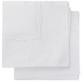Melange Home Wavy Stripe Cotton Percale Euro Shams (Set of 2)