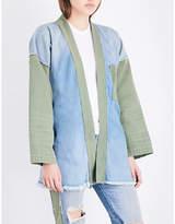 NSF Ladies Marley Denim Kimono Jacket