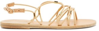 Ancient Greek Sandals Pasifai Leather Sandals - Tan Gold