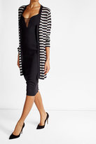Max Mara Striped Cashmere Cardigan