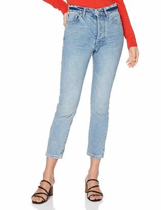 Armani Exchange Women's 11 5 Ounces Cotton Slim Jeans