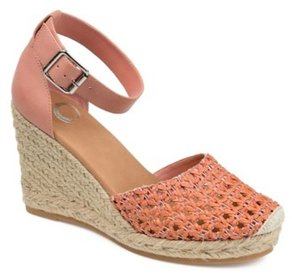 Journee Collection Sierra Espadrille Wedge Sandal