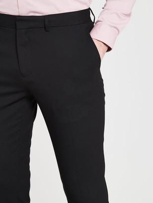 River Island Smart Skinny Black Trousers