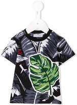Dolce & Gabbana tropical print T-shirt - kids - Cotton - 6 mth