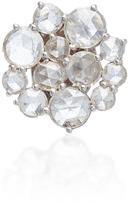 Susan Foster 18K White Gold Diamond Single Stud Earring